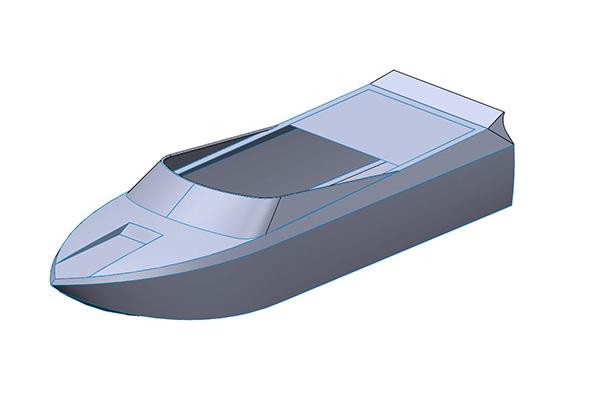 M-Jet Boat Design
