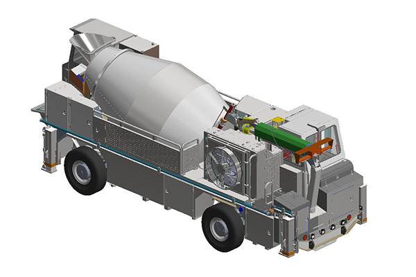 Shotcrete Vehicle