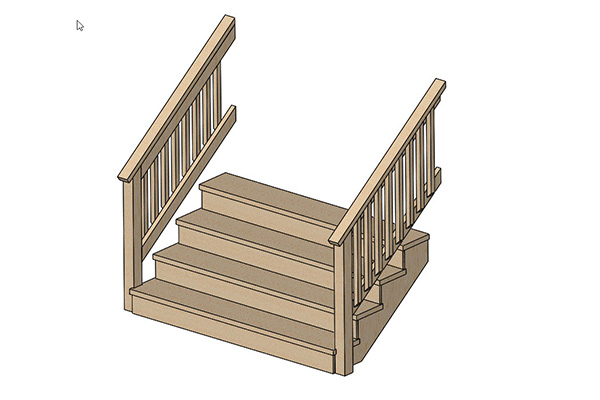 Timber Stair Case Design